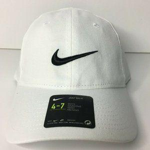 Nike Swoosh Cap Adjustable Strap Boys Hat Size 4-7